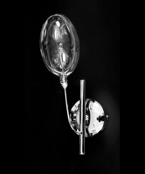 ΦΩΤΙΣΤΙΚΟ ΑΠΛΙΚΑ 6361 CLEAR GLASS CROMO 1Φ
